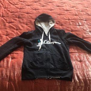 Reversible Volcom hoodie sweatshirt